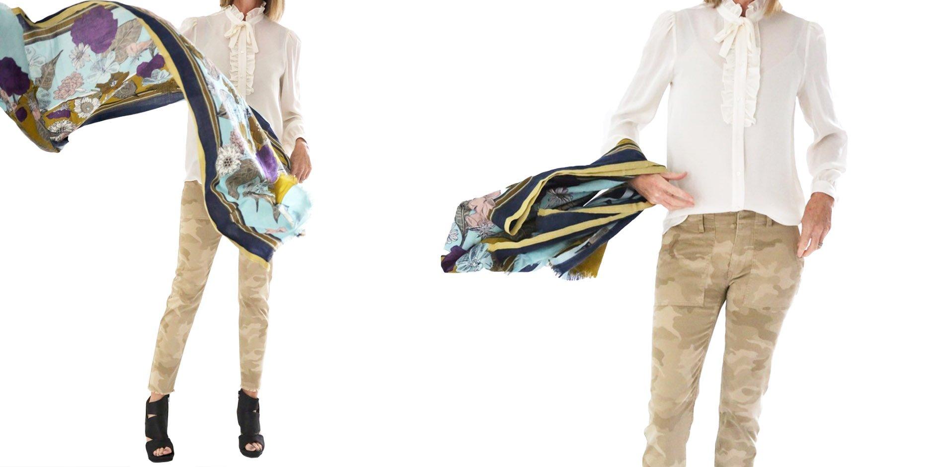 Eloise Styled Shoot Camo Pants