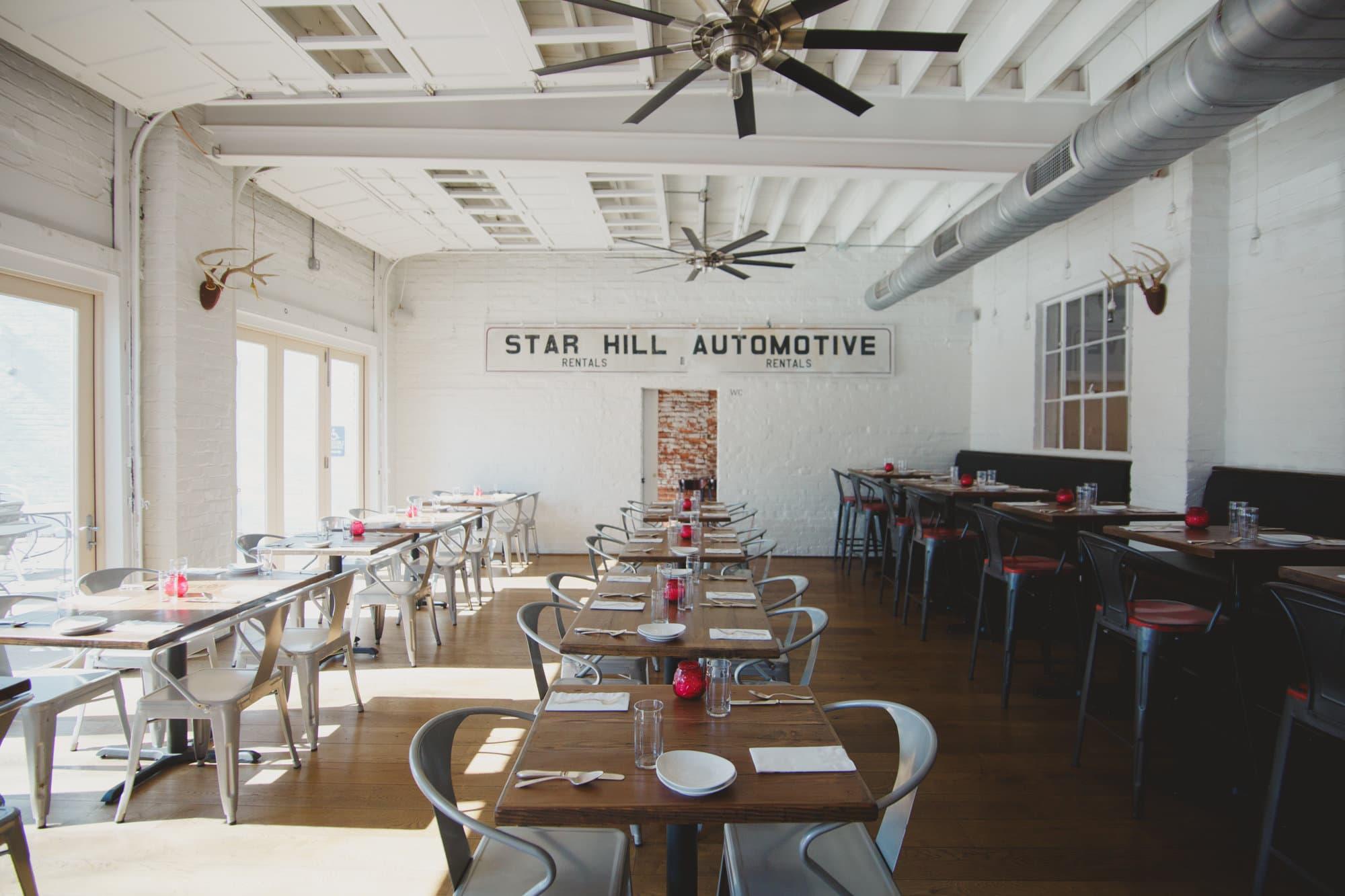 Oakhart Social Dining Room