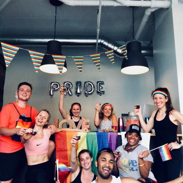 It's Just Love 🌈 HAPPY PRIDE!!! Thankful to be surrounded by the best friends and family! ❤️🧡💛💚💙💜🖤🤍 #pride #happypridemonth #loveislove #mondaymemories #charlottesvilleinsiderian