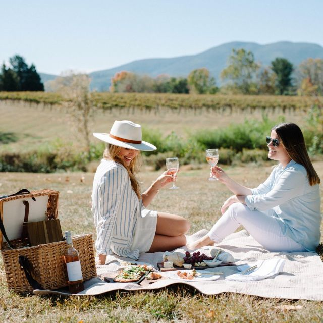 It doesn't get much better than this view, wine and these beautiful business relationships turned friendships katemgreer and serapetras! I'm ready for more... more wine, more laughter, more sunshine, more of this crazy beautiful life! 🥂 photos : serapetras #charlottesvilleinsiderbekah